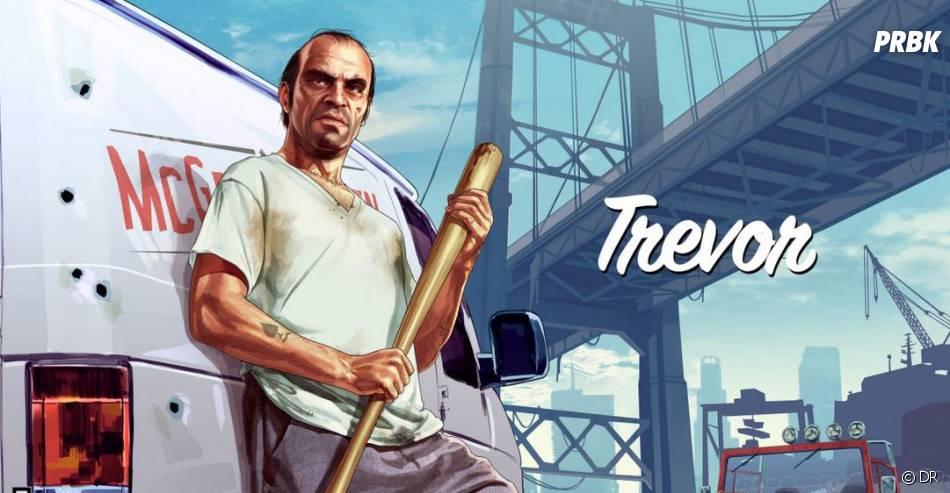 Trevor de GTA 5 est l'un des personnages du jeu vidéo les plus classes et badass de 2013