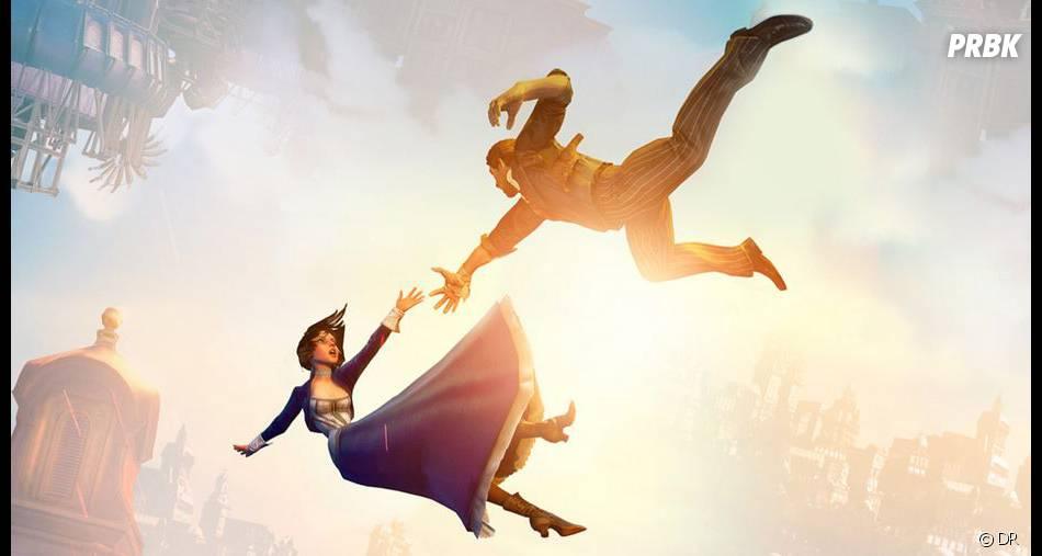 Elizabeth et Booker de Bioshock Infinite est l'un des personnages du jeu vidéo les plus classes et badass de 2013