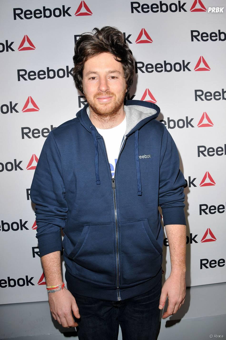 Jean Imbert à l'ouverture du concept store Reebok à Paris, le 4 décembre 2013