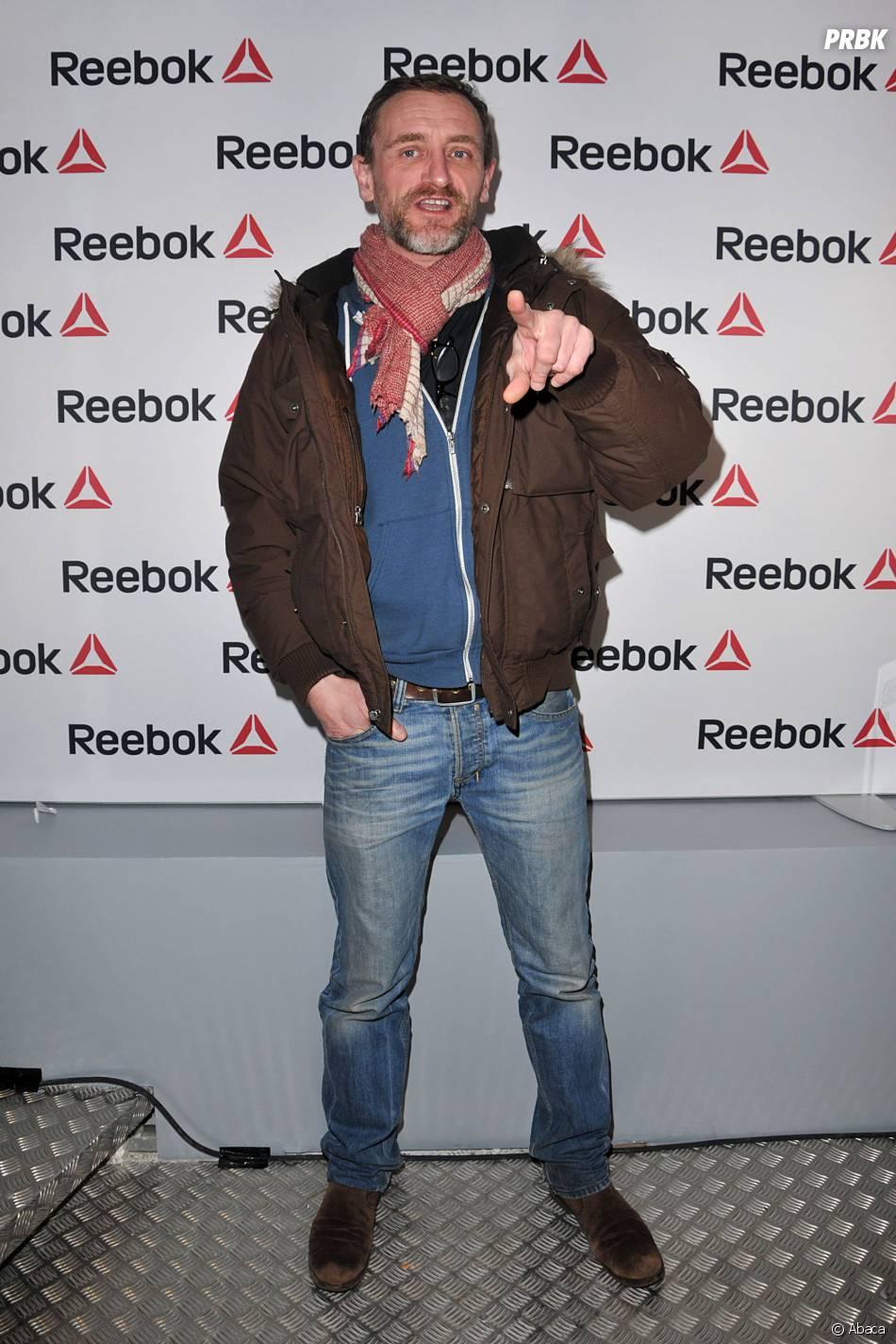 Jean-Paul Rouve à l'ouverture du concept store Reebok à Paris, le 4 décembre 2013