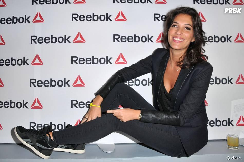 Laurie Cholewa à l'ouverture du concept store Reebok à Paris, le 4 décembre 2013