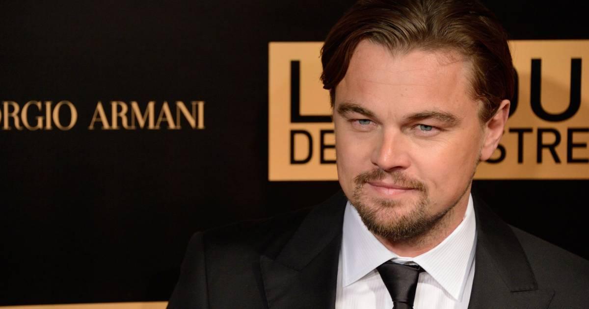 Leonardo dicaprio sur le tapis rouge de l 39 avant premi re for Dujardin dicaprio