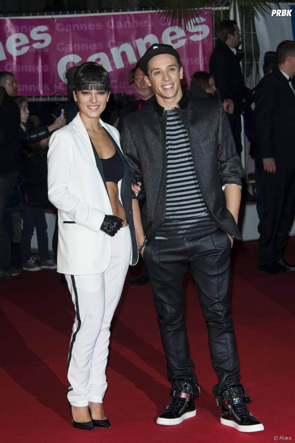 Alizée et Grégoire Lyonnet aux NRJ Music Awards 2014, le 14 décembre 2013 à Cannes