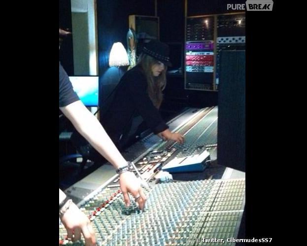 Secret Story 7 : Clara en studio