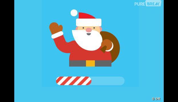 sur la piste du pere noel Google : suivez le Père Noël à la trace grâce à l'appli Santa  sur la piste du pere noel
