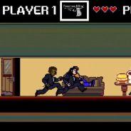 Le film culte Pulp Fiction détourné en version jeu vidéo 8 bits