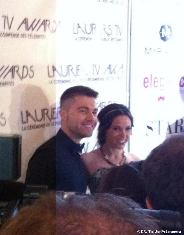 Lauriers TV Awards 2014 : Capucine Anav et Anthoni Ruiz en couple ?