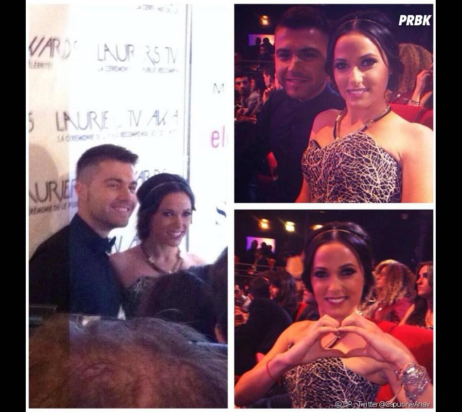 Lauriers TV Awards 2014 : Capucine Anav amoureuse ?