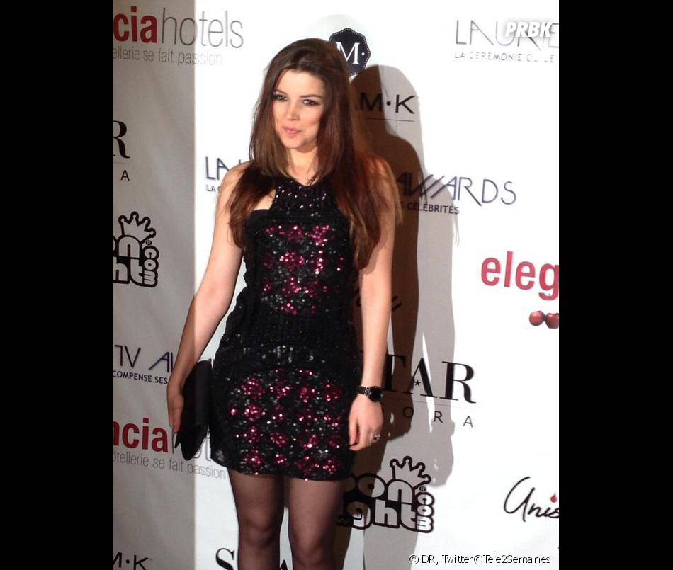 Lauriers TV Awards 2014 : Pauline de La Star Academy