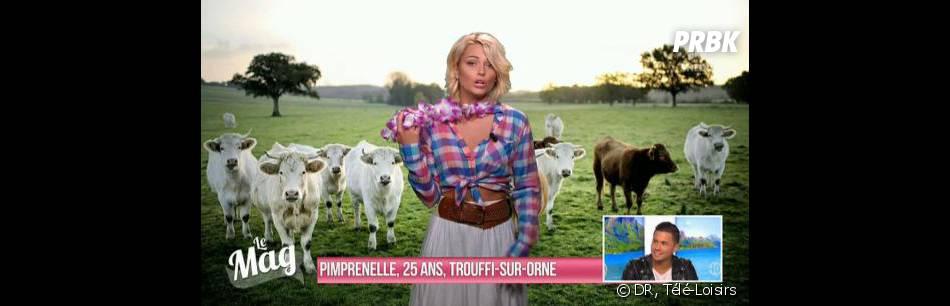 L'amour est dans le pré : Caroline Receveur aka Pimprenelle dans Le Mag