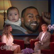 Kim Kardashian, la triple exhib : seins, fesses et bébé North pour nous séduire