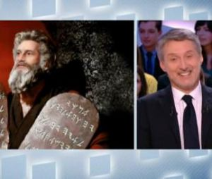 Le Grand Journal : Antoine de Caunes réalise ses télé-commandements