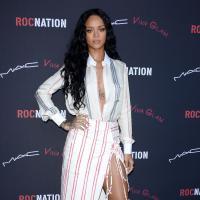 Rihanna : décolletés de sortie avant les Grammy Awards 2014