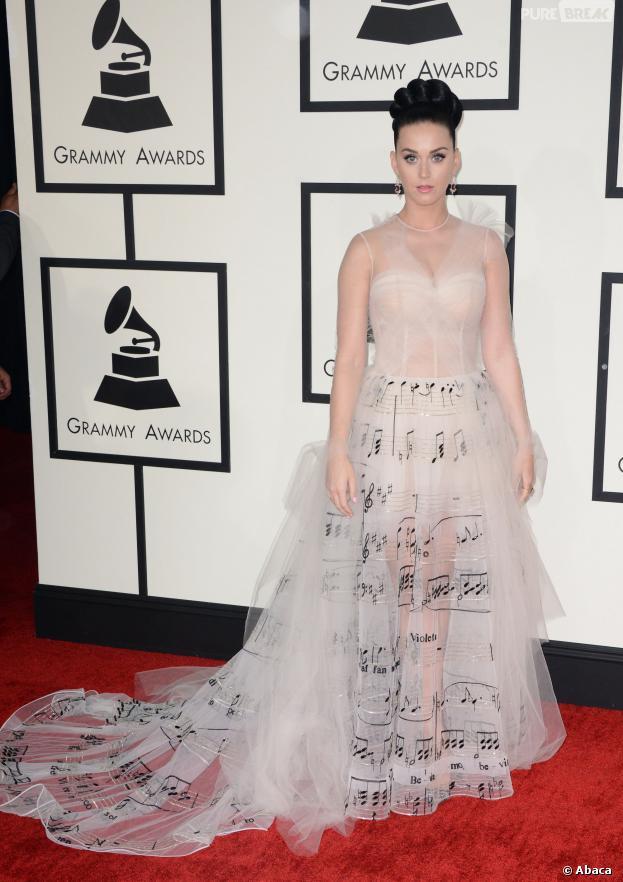 Katy Perry aux Grammy Awards 2014, le 26 janvier 2014 à Los Angeles