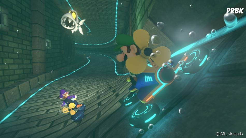 Mario Kart 8 : Mario au volant en mai 2014
