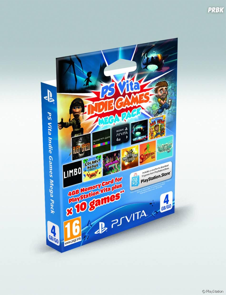 """PS Vita : le Mega Pack """"Indie"""" comprend 10 jeux indépendants"""