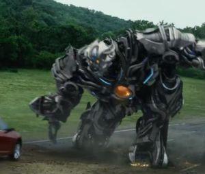 Transformers 4 : des scènes d'action spectaculaires