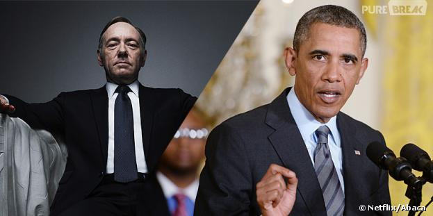 House of Cards : Barack Obama ne veut pas se faire spoiler la saison 2