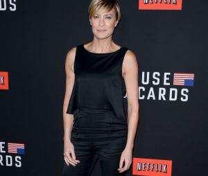 House of Cards saison 2 : Robin Wright à l'avant-première le 13 février 2014 à Los Angeles