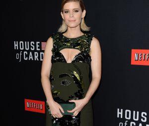 House of Cards saison 2 : Kate Mara dans une sublime robe à l'avant-première le 13 février 2014 à Los Angeles