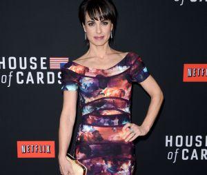 House of Cards saison 2 : Constance Zimmer lors de l'avant-première le 13 février 2014 à Los Angeles