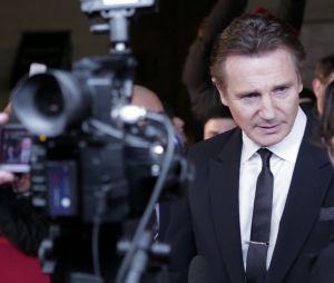 Non-Stop : Liam Neeson à l'avant-première à Paris, le 27 janvier 2014