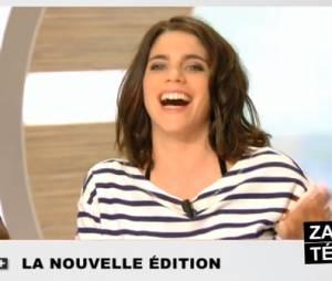 La Nouvelle Edition : fou rire pour Julia Molkhou