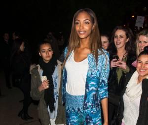 Jourdan Dunn au défilé H&M pendant la Fashion Week de Paris, le 26 février 2014