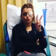 Alexia Mori (Secret Story) : vidéo de son oeil mordu pour répondre à ses haters