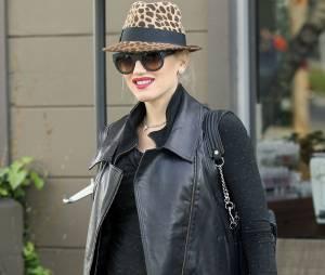 Gwen Stefani enceinte et lookée, le 17 décembre 2013 à Los Angeles