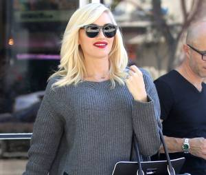 Gwen Stefani : une future maman fashion, le 16 octobre 2013 à Los Angeles