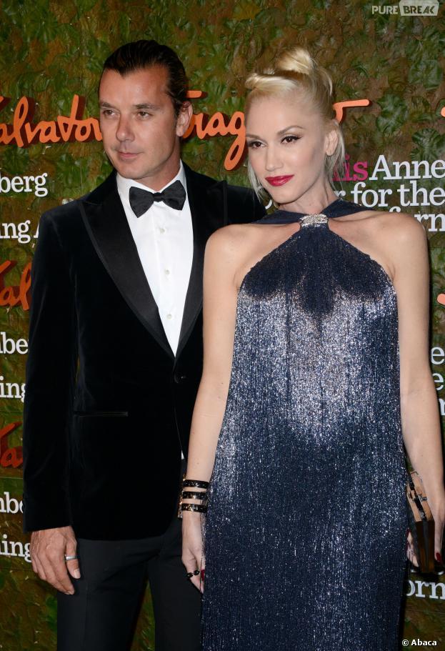 Gwen Stefani enceinte et Gavin Rossdale au Performing Arts Inaugural Gala, au 17 octobre 2013 à Los Angeles