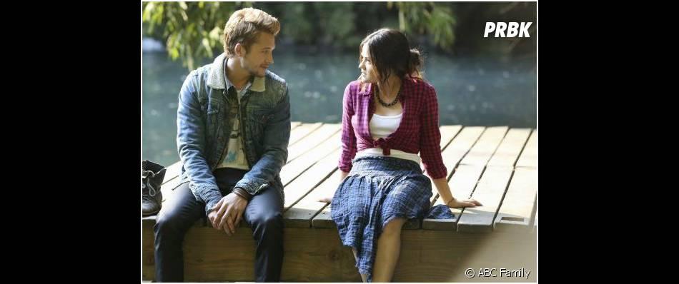 Pretty Little Liars saison 4, épisode 22 : Aria et Riley bientôt en couple ?