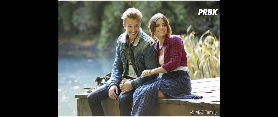 Pretty Little Liars saison 4 : Lucy Hale et Nick Roux dans l'épisode 22