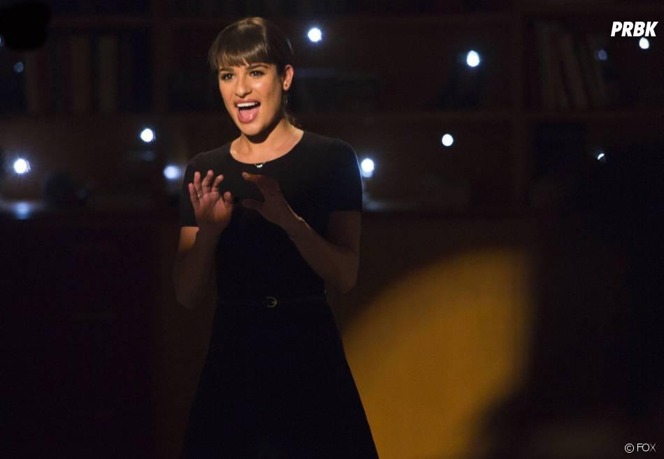 Glee saison 5, épisode 12 : Lea Michele dans l'épisode 100