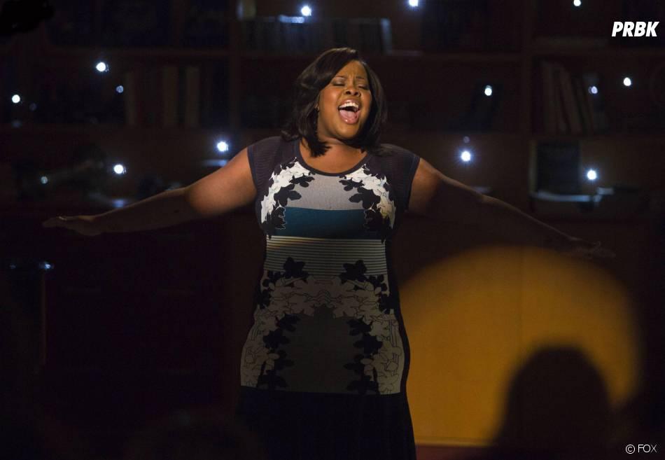 Glee saison 5, épisode 12 : Amber Riley dans l'épisode 100