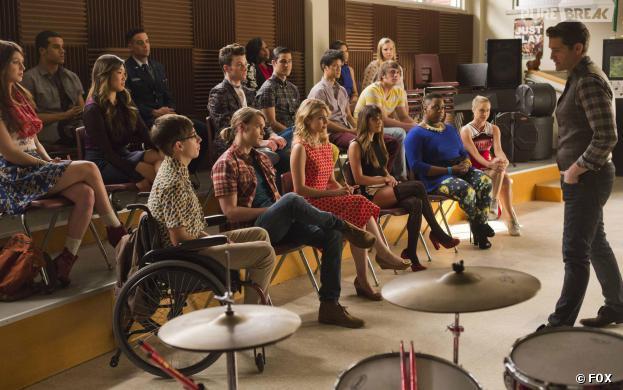 Glee saison 5, épisode 12 : retrouvailles dans l'épisode 100
