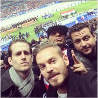 M. Pokora : Robin des Bois soutient les Bleus au Stade de France