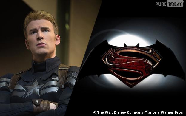 Captain America face à Batman et Superman au cinéma