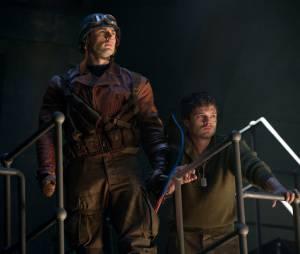 Captain America : Chris Evans et Sebastian Stan sur une photo