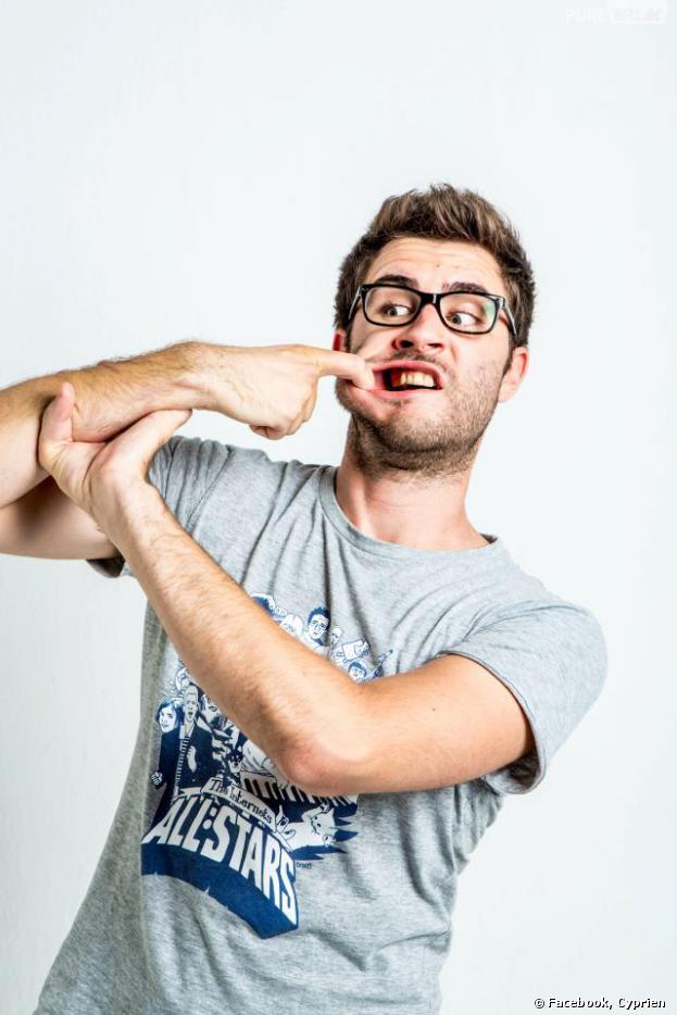Cyprien est nommé dans plusieurs catégories aux Web Comedy Awards