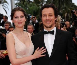 Laetitia Casta et son mari Stefano Accorsi en couple au festival de Cannes 2011