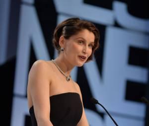 Laetitia Casta après la remise de la Palme d'or au festival de Cannes 2013