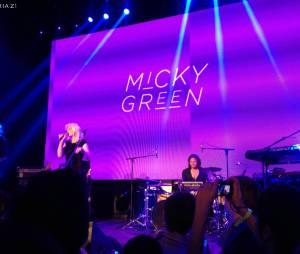 Micky Green sur la scène du YOYO le 19 mars dernier