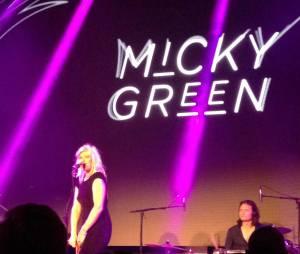 Micky Green en live à la soirée Kiberty !
