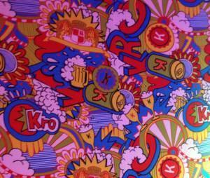 Festival de couleurs pour l'identité visuelle de la nouvelle K !