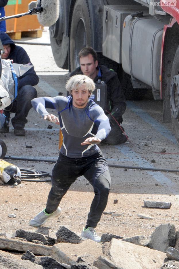 The Avengers 2 : Quicksilver en action