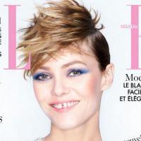 Vanessa Paradis : coupe de cheveux à la Miley Cyrus en Une du magazine ELLE