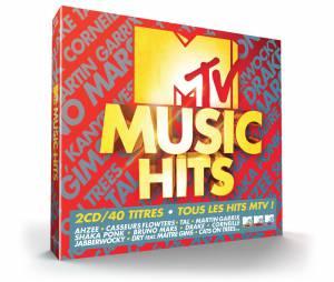 MTV Music hits : la compilation incontournable comprenant 40 tubes