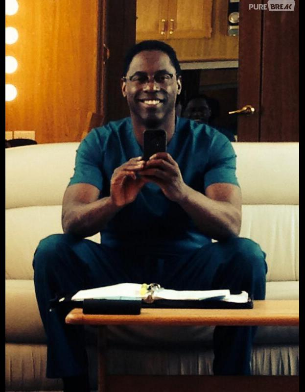 Grey's Anatomy saison 10 : Isaiah Washington sur le tournage
